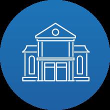Dipendenti Pubblici: icona rappresentativa di un Municipio