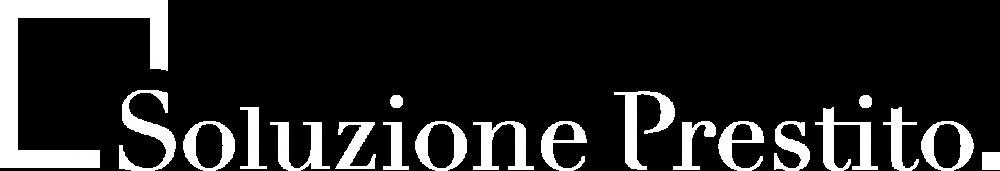 Logo di soluzioneprestito.it Bianco